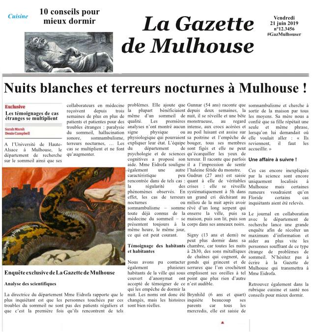 faux article Nuits blanches